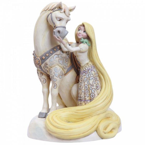 Innocent Ingenue (Rapunzel White Woodland Figurine)