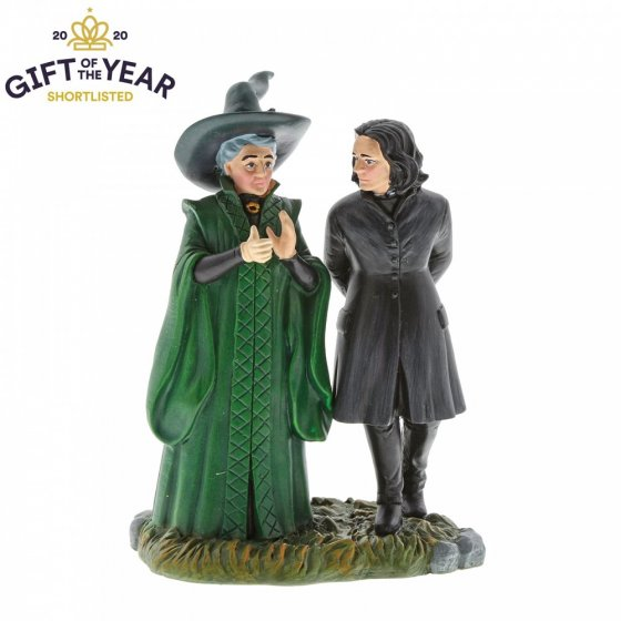 Professor Snape and Professor Minerva McGonagall