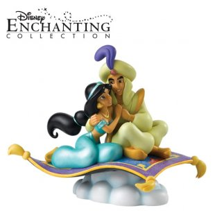 NEW Aladdin pieces from Enesco's Enchanting Disney Collection